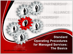 Standard Operating Procedures for Managed Services
